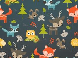 Baby Woodland Animals