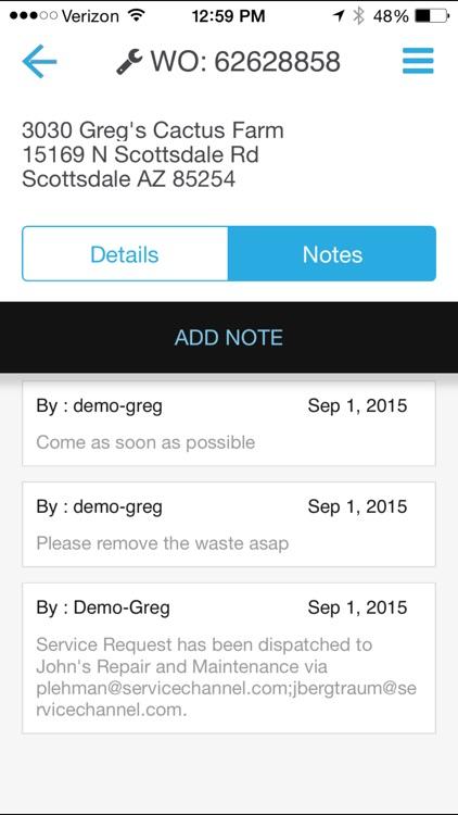 ServiceChannel screenshot-3