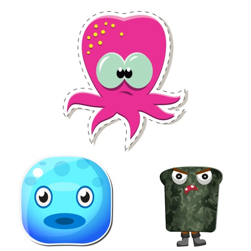 Cupcake and Jelly Fish Stickers