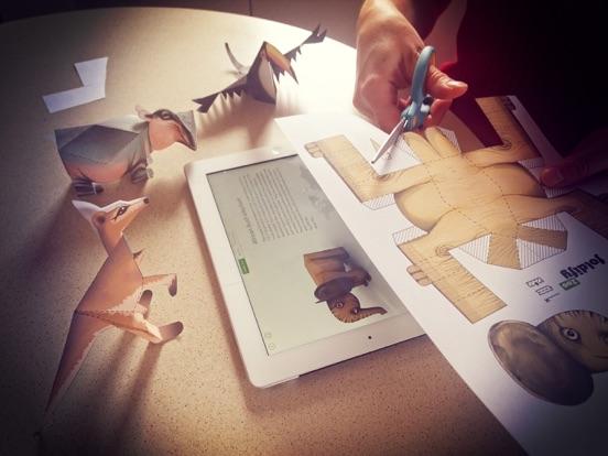 Foldify Zoo - Create & Printのおすすめ画像1