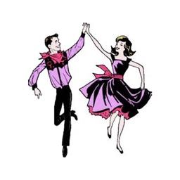 Square Dance Stickers