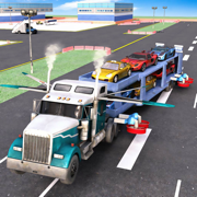 Top Car Transporter 3D Simulator