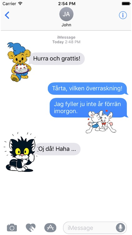 Bamse Stickers
