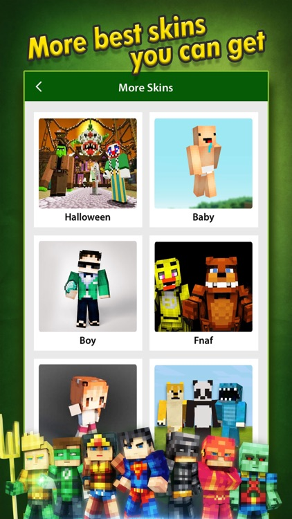 SuperHero Skins Pro - Minecraft Pocket Edition