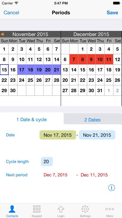 ContactsPro for iPad (and iPhone) screenshot-3