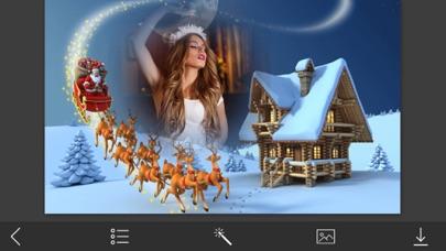 Christmas Tree Hd Photo Frames - Make Profile pic