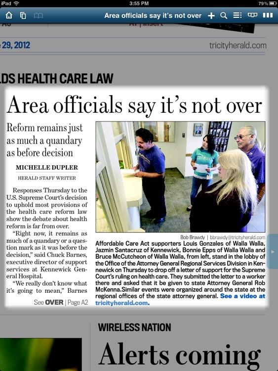 Tri-City Herald eEdition screenshot-3