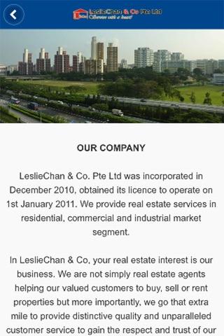 Screenshot of LC & Co