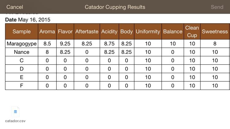 Catador Cupping screenshot-4