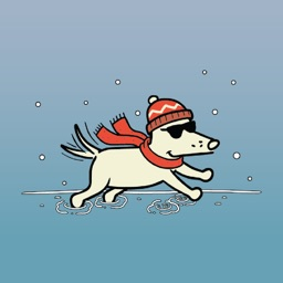 Teddy the Dog: Happy Howlidays Stickers