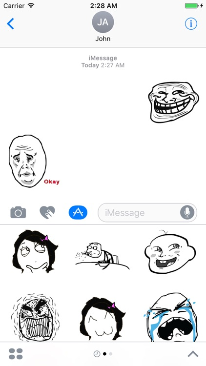 Meme Faces for iMessages