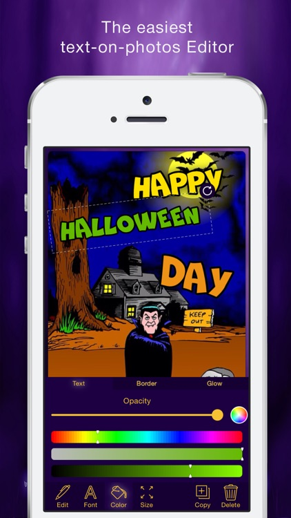 Halloween Cards Maker screenshot-1
