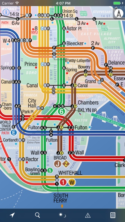 NYC Subway 24-Hour KickMap
