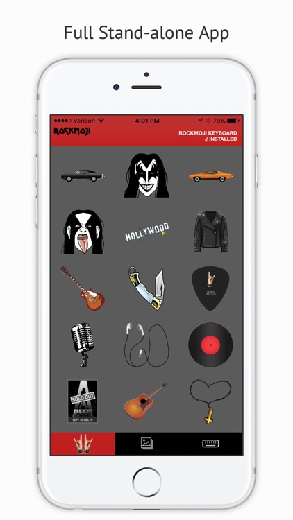 Rockmoji screenshot-3