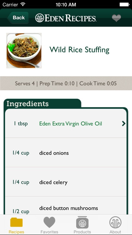Eden Recipes