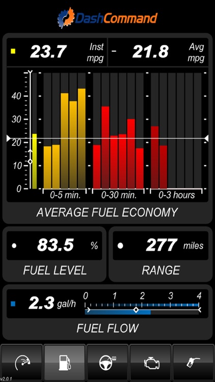 DashCommand - OBD-II gauge dashboards, scan tool screenshot-4