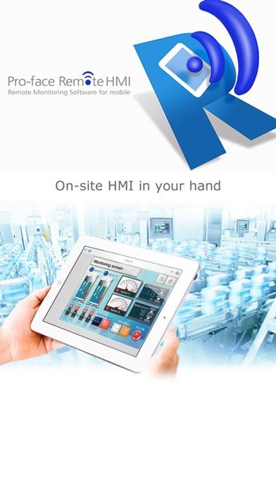 Pro-face Remote HMI Screenshot 1