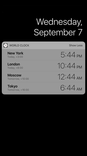 World clock today widget on the app store world clock today widget on the app store gumiabroncs Images