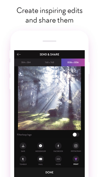 Filterloop - Photo Filters and Analog Film Effects screenshot-4