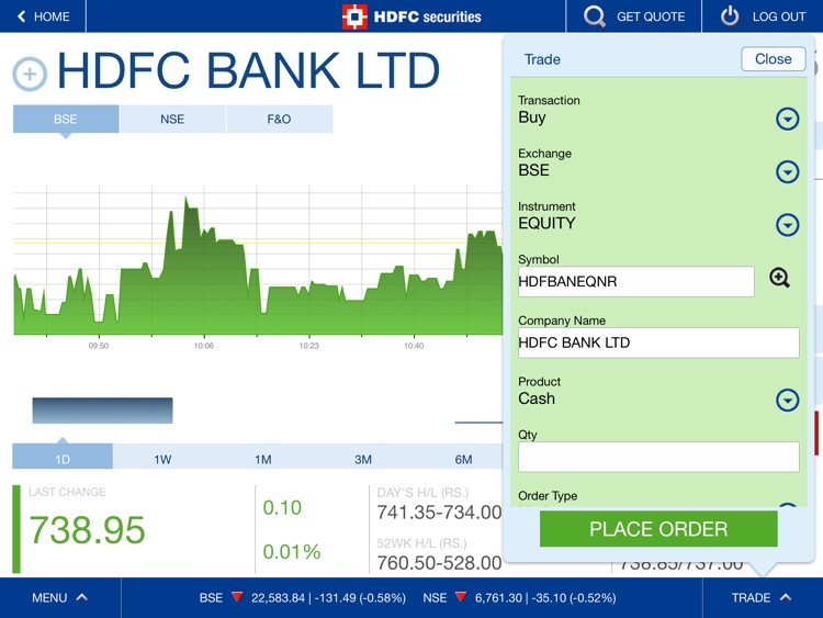HDFC securities screenshot-2