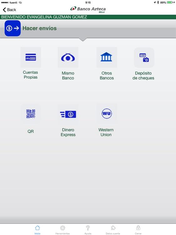 Banco Azteca Móvil Tablet screenshot-4