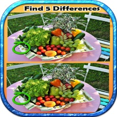 Activities of Find Differences 10 OF Fruit