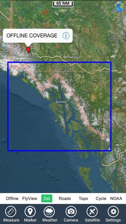 Marine : Alaska South East HD GPS Map Navigator screenshot-4