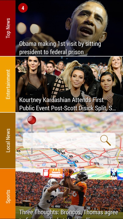Simply News - The award-winning news app that gives you breaking news from many sources, each article automatically summarized