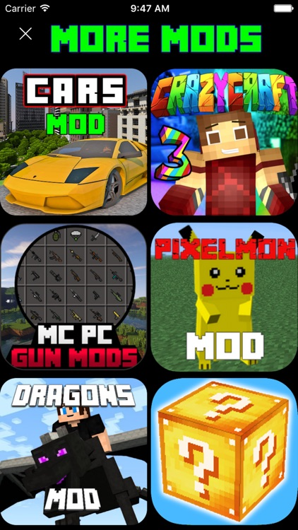 CARS EDITION MODS GUIDE FOR MINECRAFT PC GAME screenshot-4