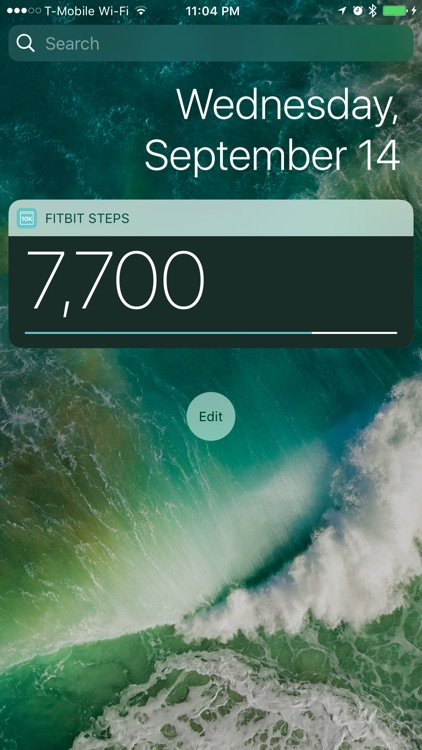 Step Widget for Fitbit