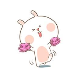 Lovely Rabbit Sticker