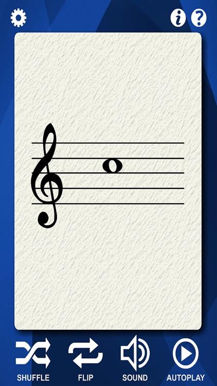 Oboe Flash Cards