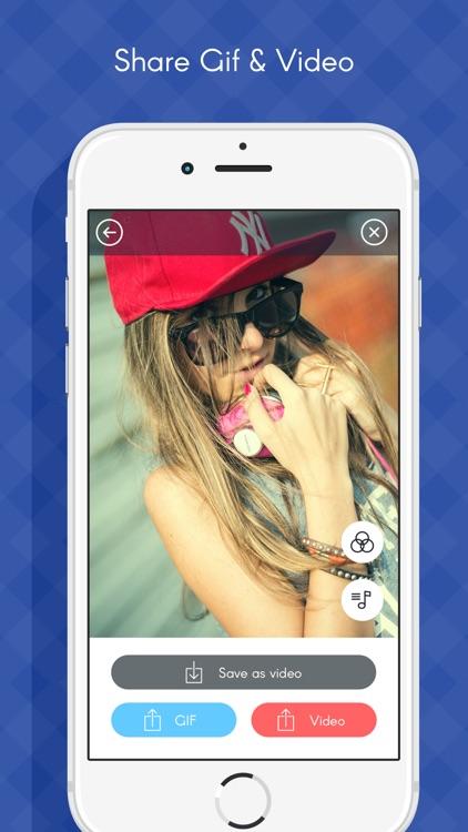 Photos to Gif maker- Social app photo to Gif Maker screenshot-3