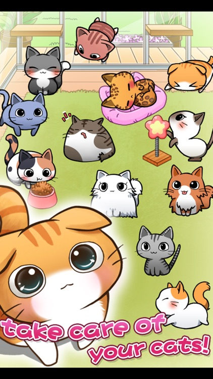 Cat Room - Cute Cat Games screenshot-1
