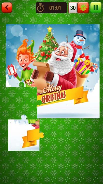 Christmas Jigsaw Puzzle – Best Brain Game For Kids screenshot-3