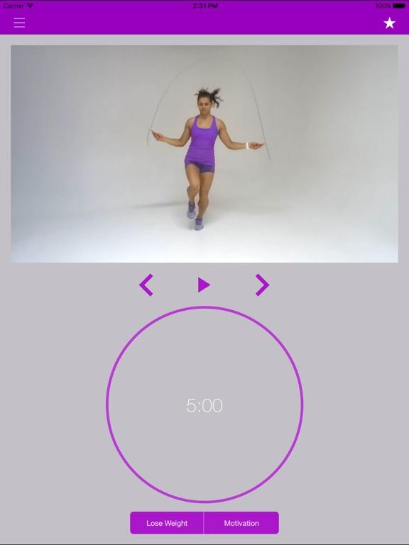Screenshot #5 pour Corde à Sauter Exercices et Entraînement Routine
