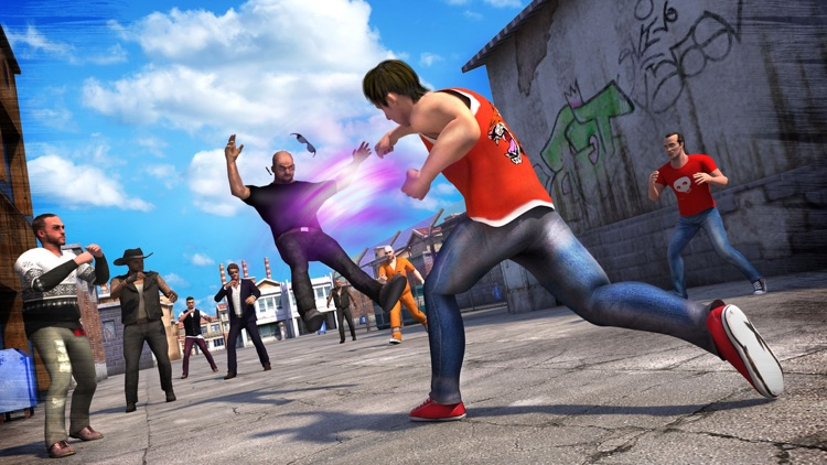Angry Fighter Attack screenshot-3