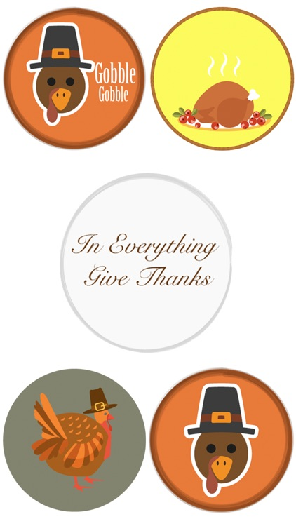 Thanksgiving Sticker Pack 1