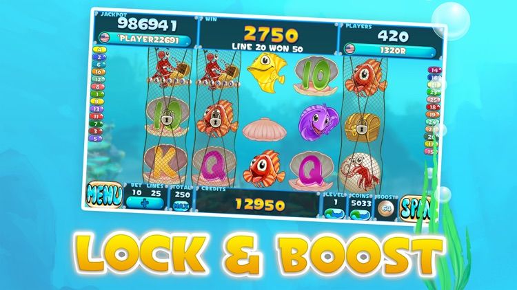 Fishy Slots screenshot-1