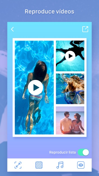 Screenshot for Photo & Video Collage Maker in Ecuador App Store