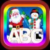 宝宝学abc 字母abc abc幼兒園 圣诞老人 圣诞 孩子遊戲 儿童学习游戏 学习英语的好方法