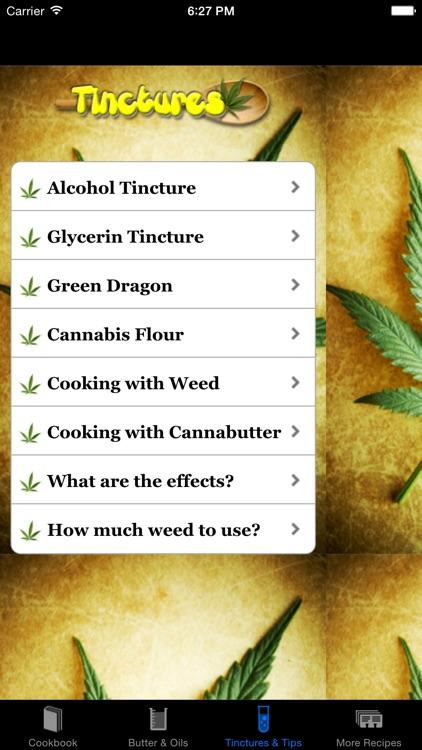 Weed Cookbook 2 - Medical Marijuana Recipes & Cook screenshot-1