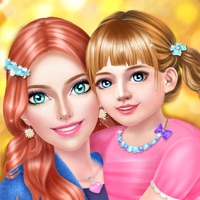 Codes for Mom & Baby Daughter Makeover - Family Party Salon Hack