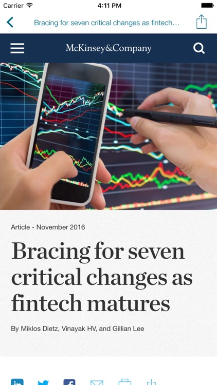 Panorama FinTech Insights by McKinsey Solutions