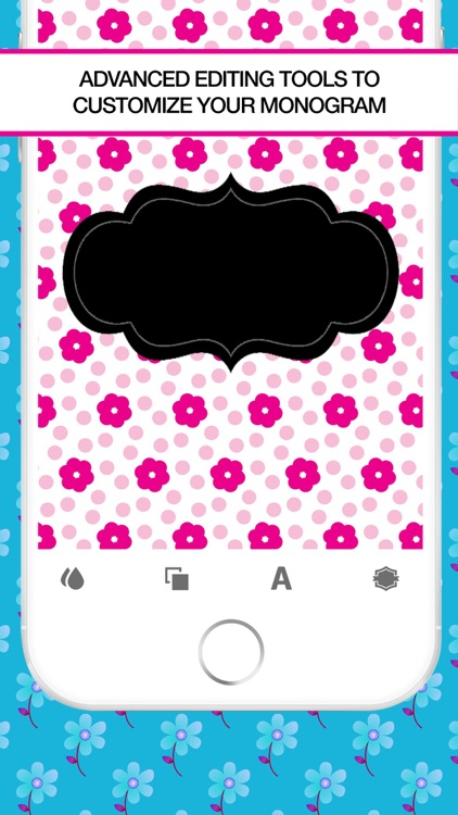Wallpaper Maker- Make Your Own Wallpaper Monogram screenshot-4