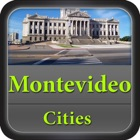 Montevideo Offline Map Travel Guide icon