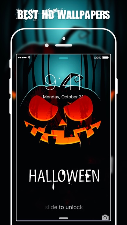 HD Halloween Wallpapers & Backgrounds Free screenshot-1
