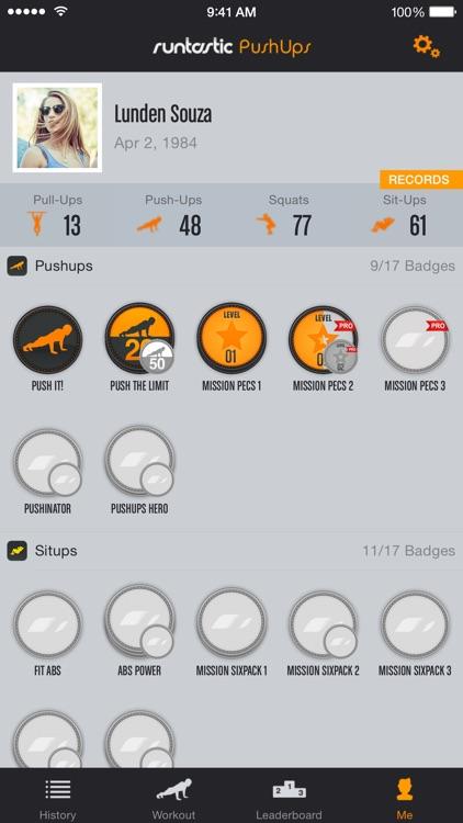 Runtastic Push-Ups PRO Trainer screenshot-4