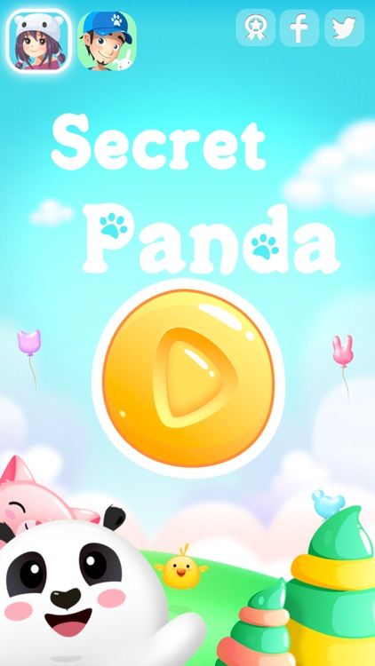 Secret Panda: pets heroes life - match 3 animals