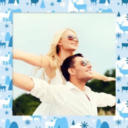 Christmas Photo Frame - Instant Photo Maker